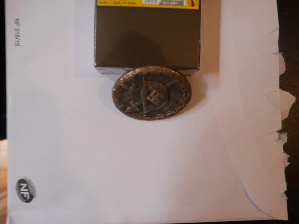Insigne des blessés de guerre non marqué  P1030015