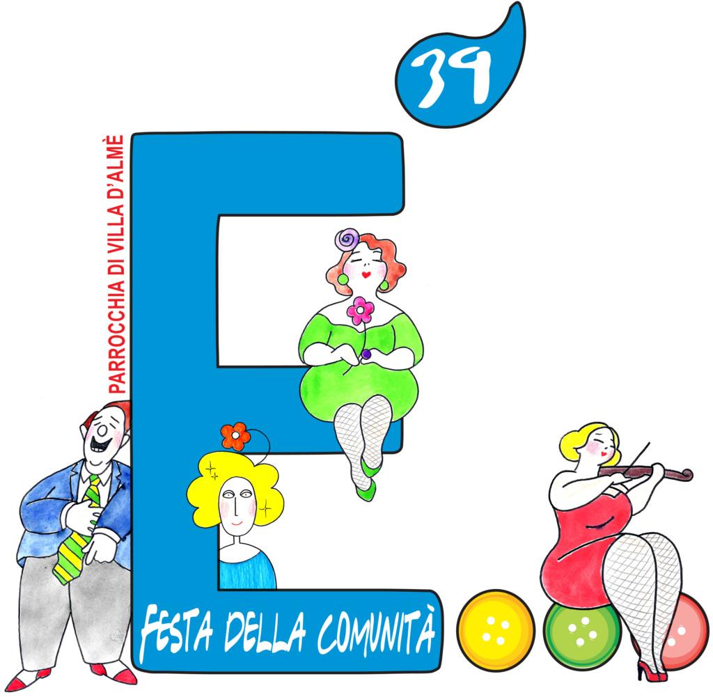 Festa della Comunità di Villa d'Almè (Bg) - 01/18 agosto 2019 Logo_f10