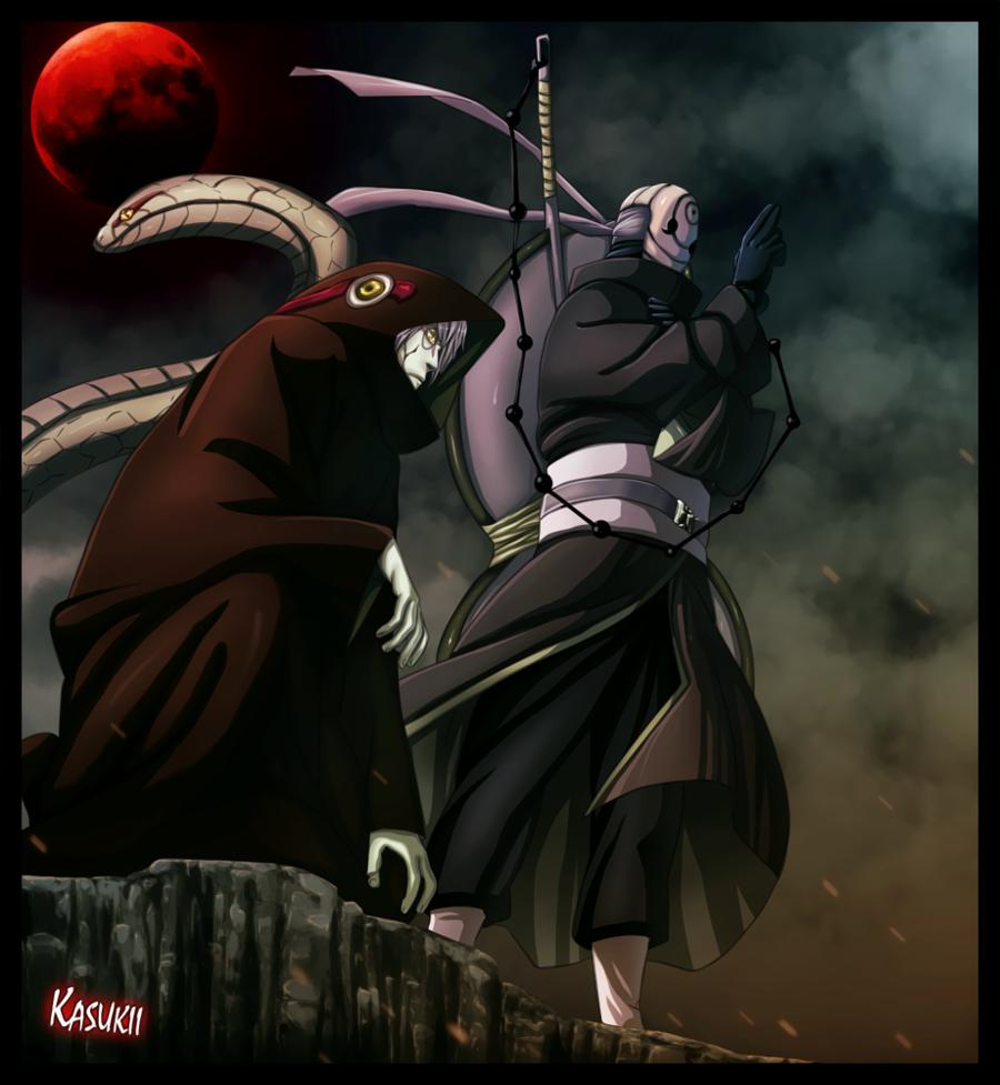 Itachi e Sasuke vs Obito e Kabuto 54956711