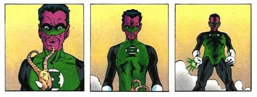 Sinestro : In blackest Day, In brightest Night, Beware you Fear made into Light Origin11