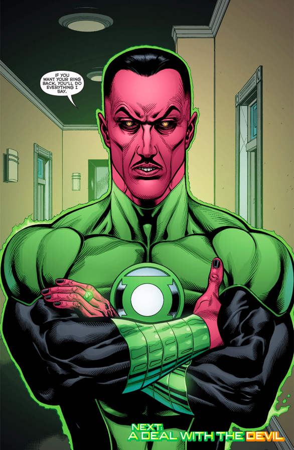 "[Flashback] Take my breath away ( Jeune Hal  / ""Gentil"" Sinestro) Sinest11"