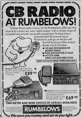 What radio did I own? Rumbel11