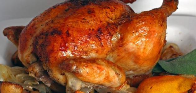 جلد الدجاج المشوي المقرمش مفيد لجسم الانسان Oao_aa10