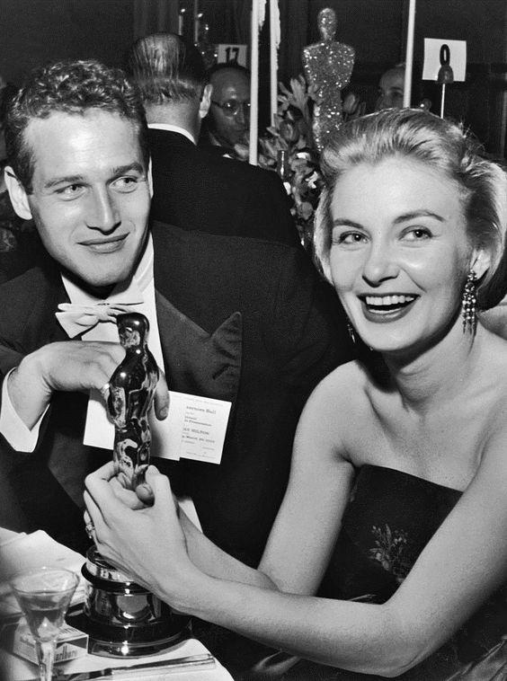 Las únicas mujeres a las que amó Paul Newman Joanne10