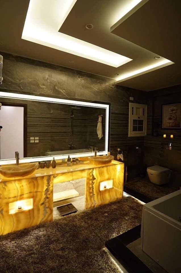 تصميم حمامات / ديكورات حمامات / افضل الديكورات / عقارى 01100448640 10361610