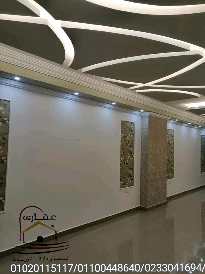 اسقف / ديكورات / تشطيبات / حوائط / اضاءة / شركة عقارى  01100448640 Img-2465