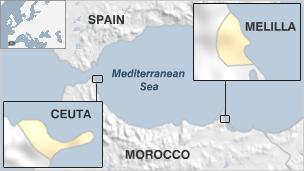 Israel diplomatic relations with Arab/Muslim states Ceuta_10