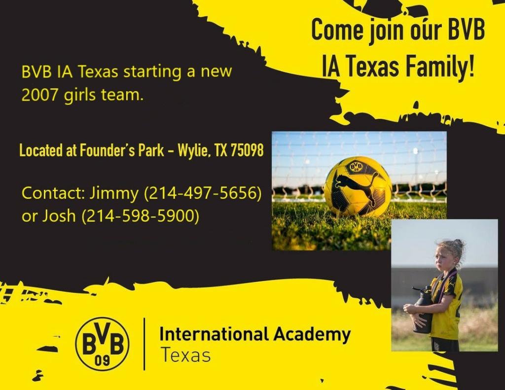 BVB IA Texas starting a new 2007 girls team Bvb_2010