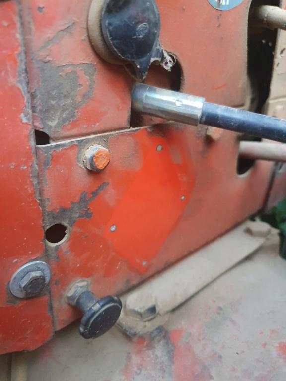 Réparation du tracto control d'effort de mon Renault 60 20200717
