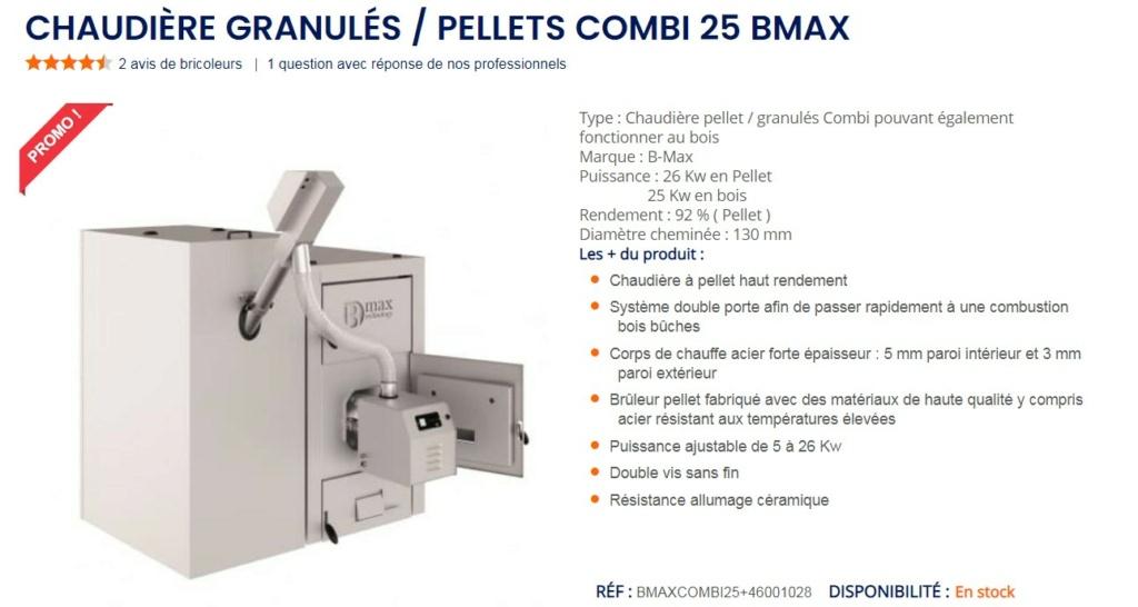 Chaudiere a pellet retour d'experience /  chaudiere BMAX Bmax10