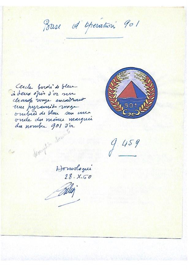 Patch et insigne FR Base_911