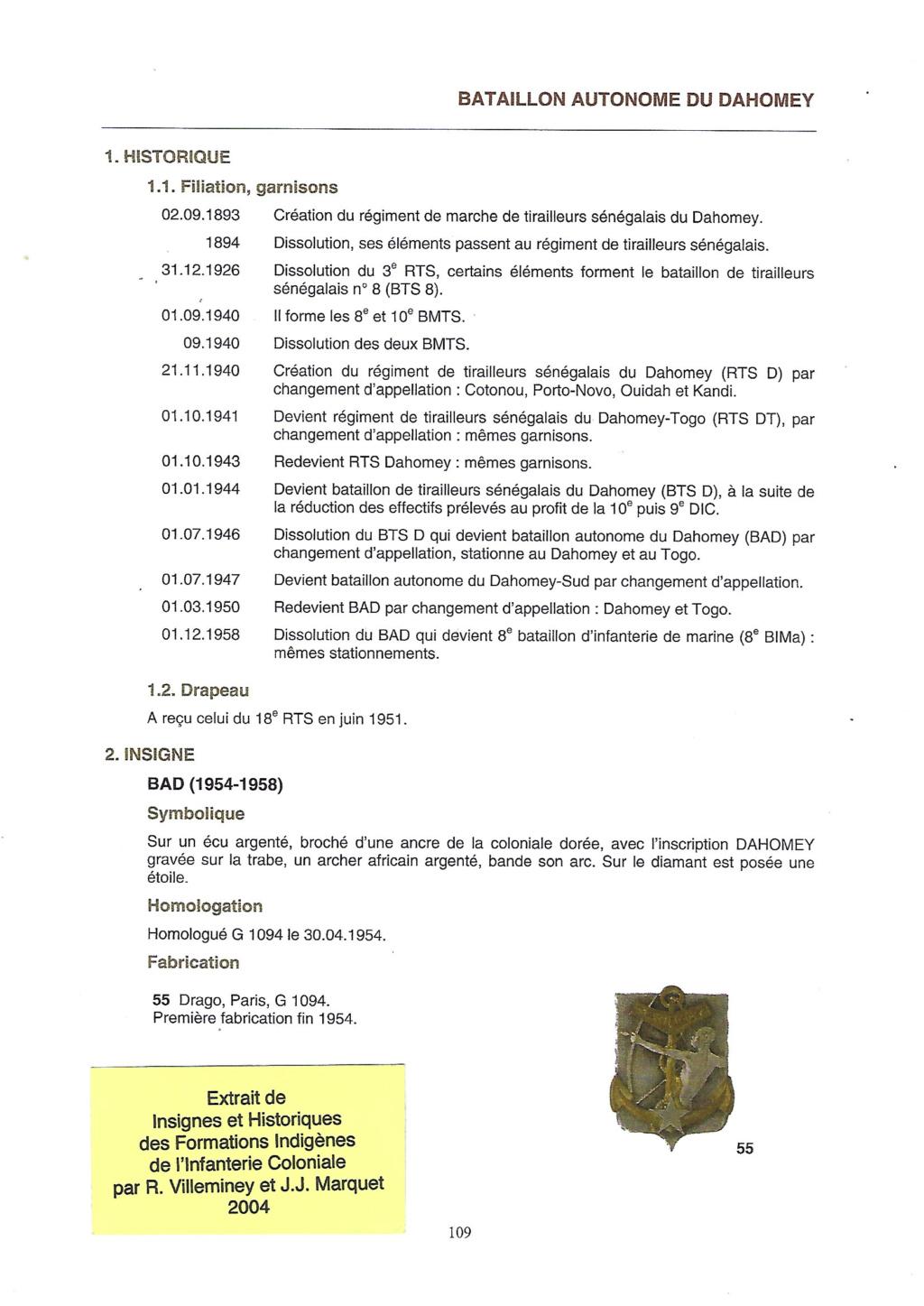 RTS du Dahomey Armée d'Armistice Dahome11