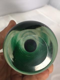 Nice Encased Glass Vase Img_1713
