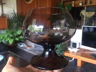 1970s Smoked Vase Squat Vase Img_2027