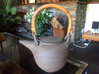 Studio Pottery Tea Pot - JT mark Img_2912