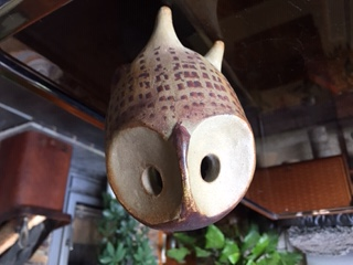 Studio Pottery Owl- No Makers Mark Img_4212