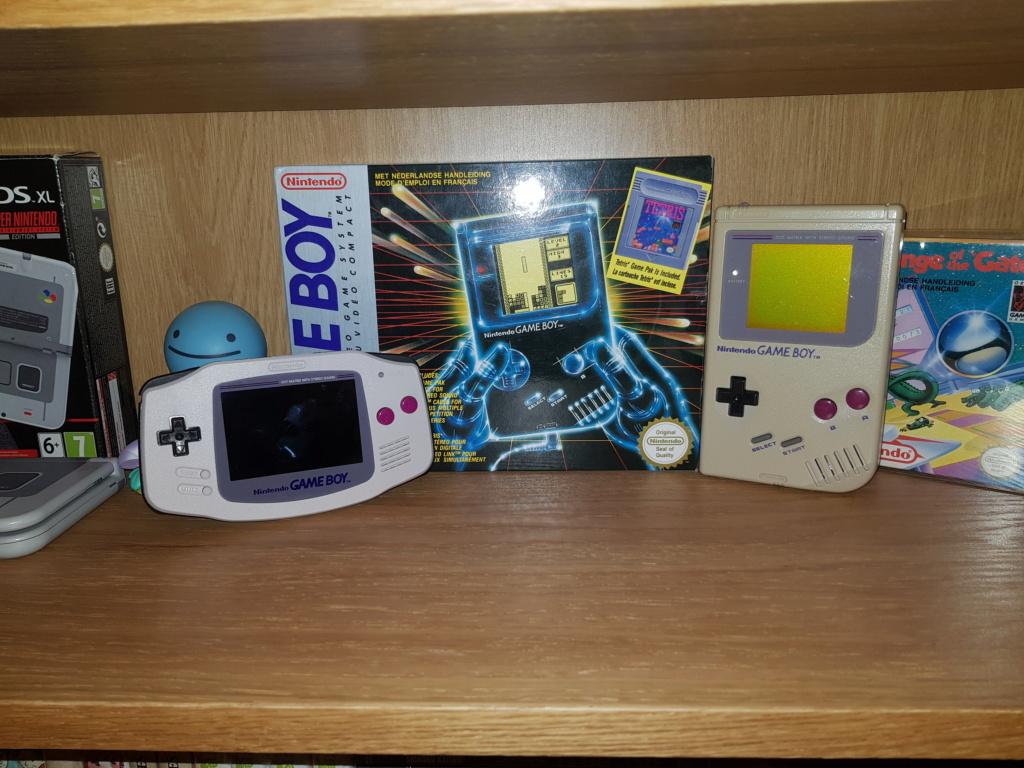 Console Game Boy Adance backlight mod ASG-101 et custom 20201111