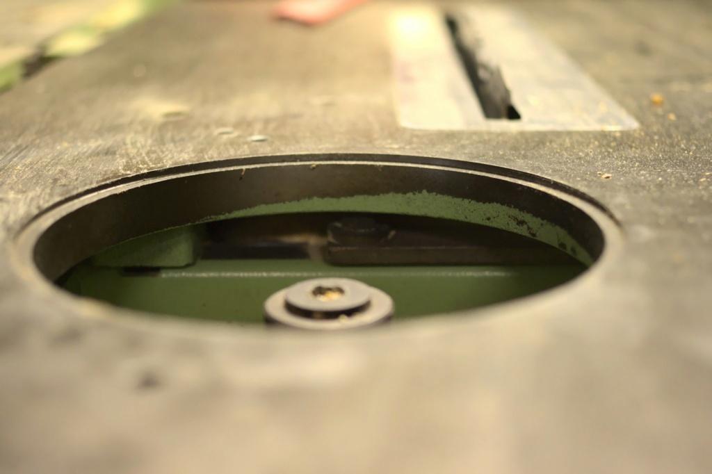 Combinée à bois SICAR 300 i7 : problème de toupie Imgp7710