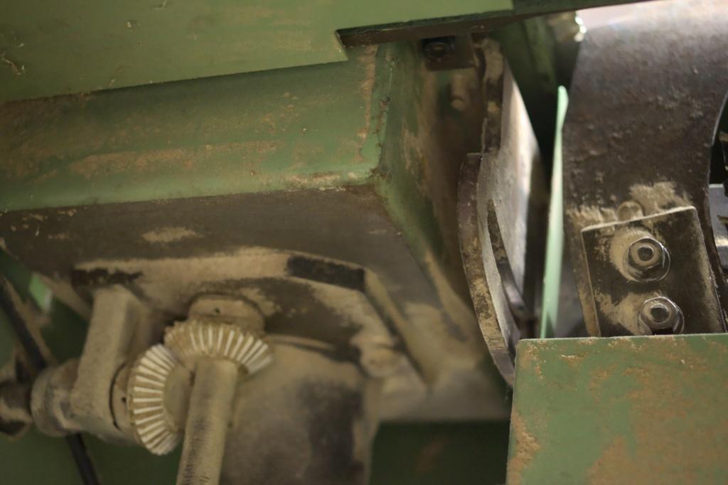 Combinée à bois SICAR 300 i7 : problème de toupie Imgp7711