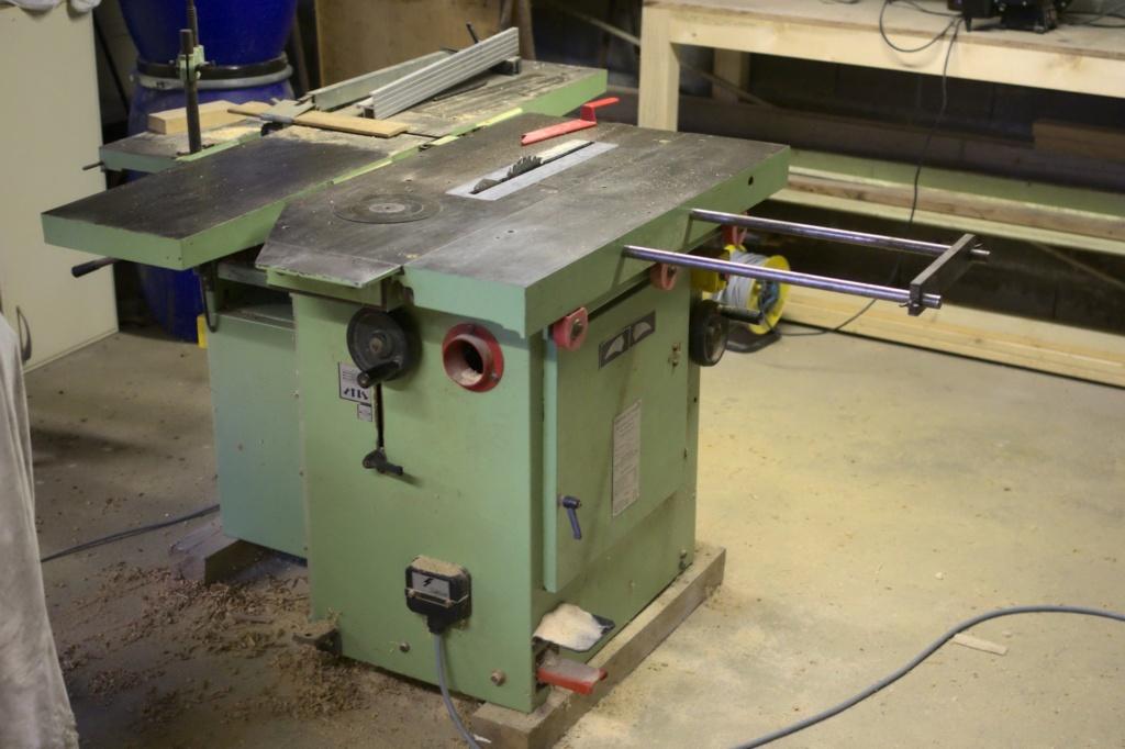 Combinée à bois SICAR 300 i7 : problème de toupie Imgp7712