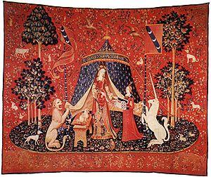 La Dame à la licorne, cette « Joconde » du Moyen Âge : étude d'un chef-d'œuvre Unknow10
