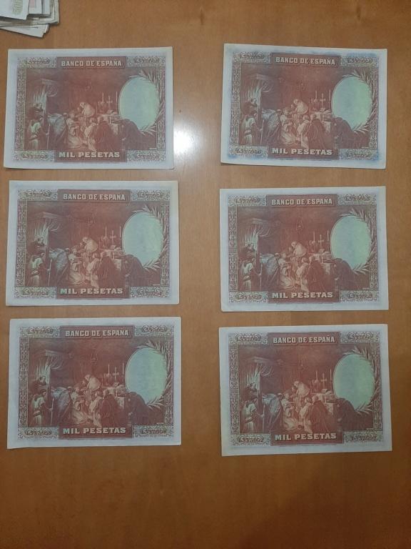 Billetes 1000 pesetas 1928 20210114