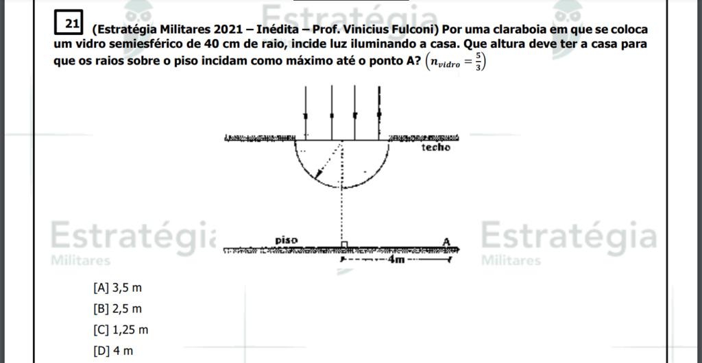 ótica - 4° simulado espcex 2022 Screen14