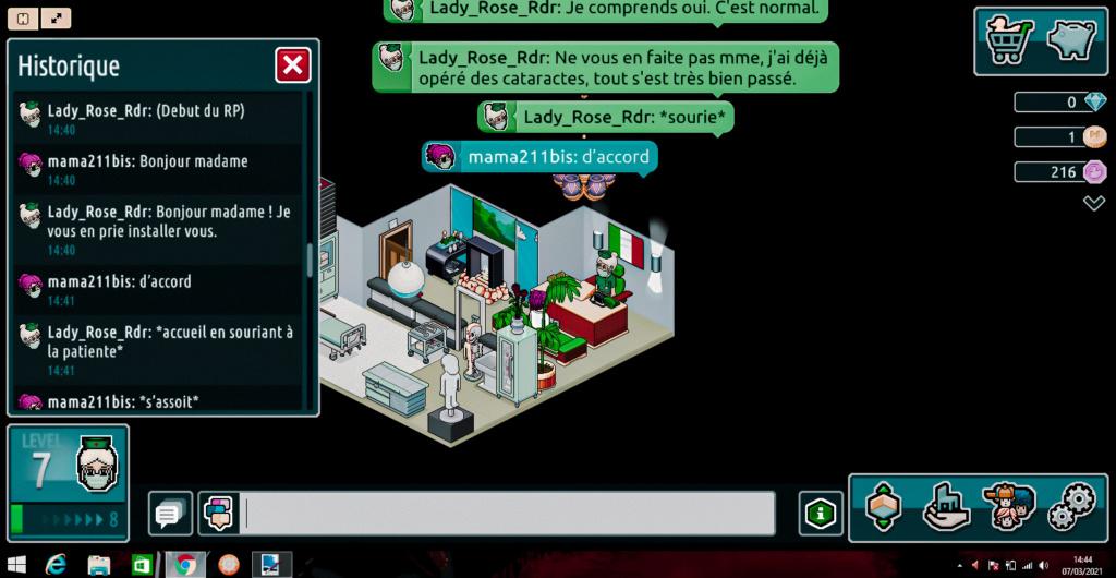 [C.H.U] Rapports d'actions de Lady_Rose_Rdr Dzobut11