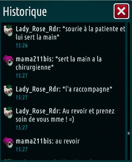 [C.H.U] Rapports d'actions de Lady_Rose_Rdr Fin_du11