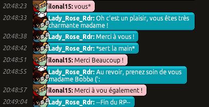 [C.H.U] Rapports d'actions de Lady_Rose_Rdr Rp_1012