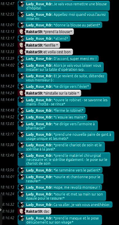 [C.H.U] Rapports d'actions de Lady_Rose_Rdr Rp_213