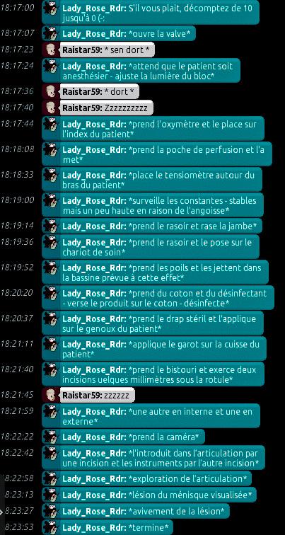 [C.H.U] Rapports d'actions de Lady_Rose_Rdr Rp_313