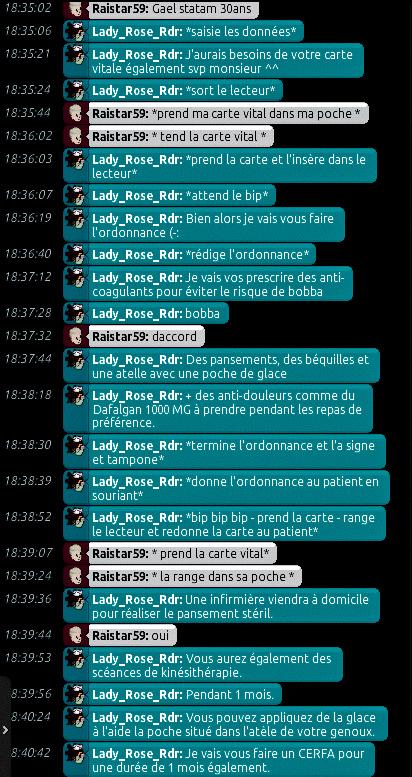 [C.H.U] Rapports d'actions de Lady_Rose_Rdr Rp_613