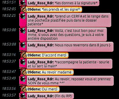 [C.H.U] Rapports d'actions de Lady_Rose_Rdr Rp_910