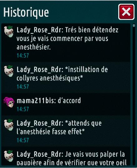 [C.H.U] Rapports d'actions de Lady_Rose_Rdr Suite_13