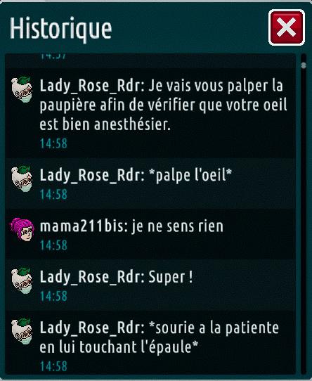 [C.H.U] Rapports d'actions de Lady_Rose_Rdr Suite_14
