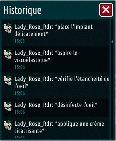 [C.H.U] Rapports d'actions de Lady_Rose_Rdr Suite_19