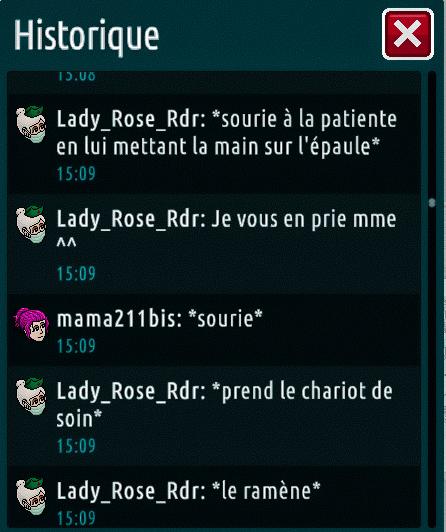 [C.H.U] Rapports d'actions de Lady_Rose_Rdr Suite_23