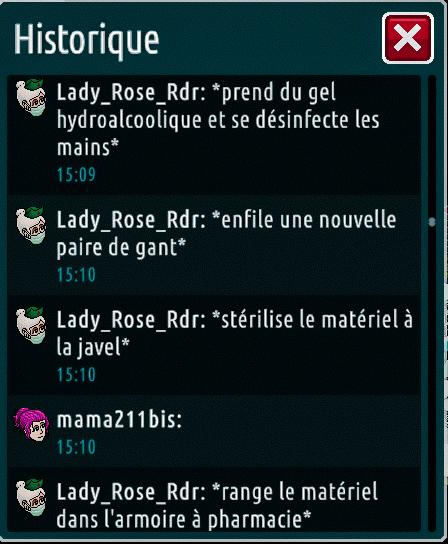 [C.H.U] Rapports d'actions de Lady_Rose_Rdr Suite_24