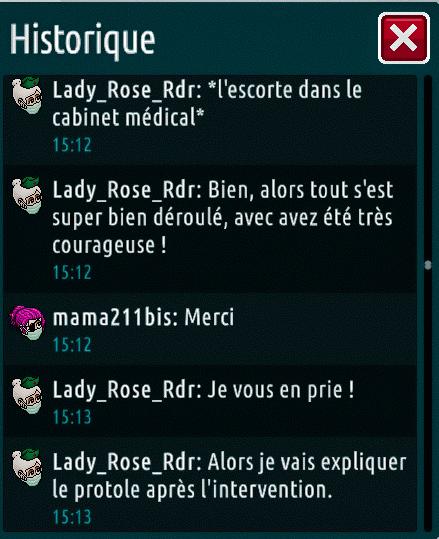 [C.H.U] Rapports d'actions de Lady_Rose_Rdr Suite_26