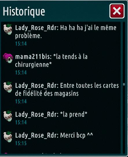 [C.H.U] Rapports d'actions de Lady_Rose_Rdr Suite_28