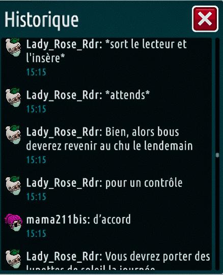 [C.H.U] Rapports d'actions de Lady_Rose_Rdr Suite_29