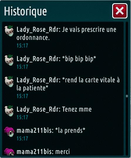 [C.H.U] Rapports d'actions de Lady_Rose_Rdr Suite_31