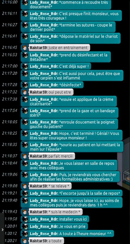 [C.H.U] Rapports d'actions de Lady_Rose_Rdr Suite_92