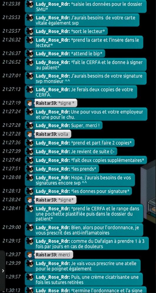 [C.H.U] Rapports d'actions de Lady_Rose_Rdr Suite_94