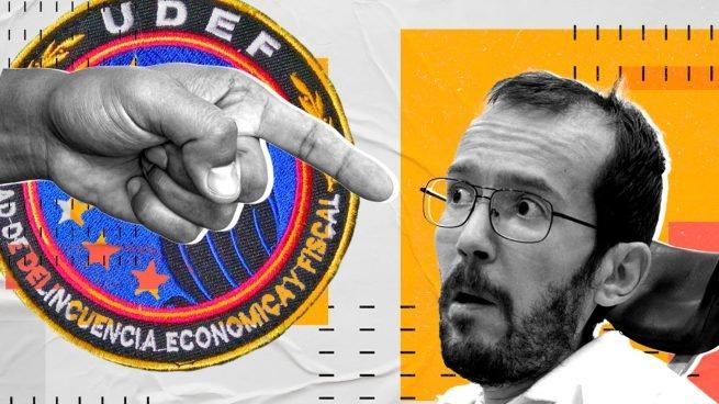 La UDEF señala a Echenique como responsable del desvío de 30.000 € de la 'caja B' de Podemos Udef-a10