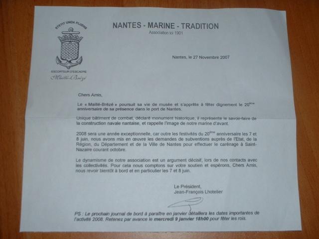 [ Associations anciens Marins ] AMICALE MAILLÉ BREZÉ - Page 6 Dscf0027