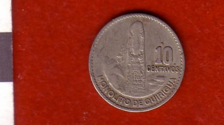 Guatemala, 50 centavos, 1962 Moneda10