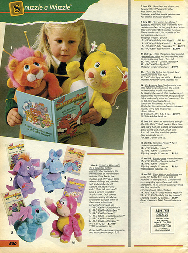 WUZZLES  (Hasbro)  1984 Wuzzle10