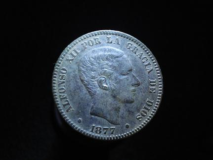 10 cts. Pts de Alfonso XII (Barcelona, 1877 d.C) Otras_15